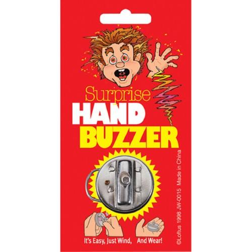 Hand Buzzer Buzz Joke Gag Gift Prank Ring Joy Fun Shake Hand Shocker Trick