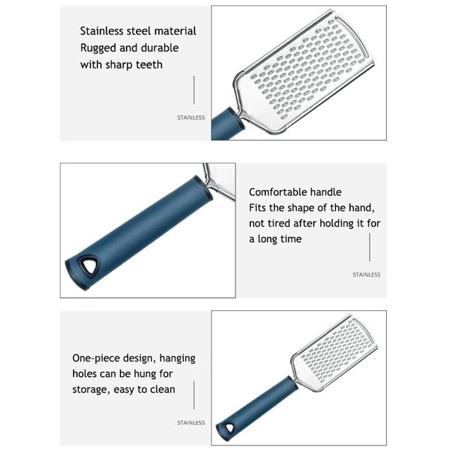Great Graters – 3 Piece Grater Set