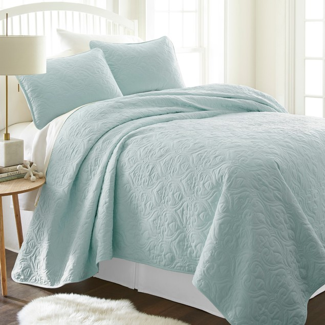 Becky Cameron Premium Ultra Soft Quilted Coverlet Set