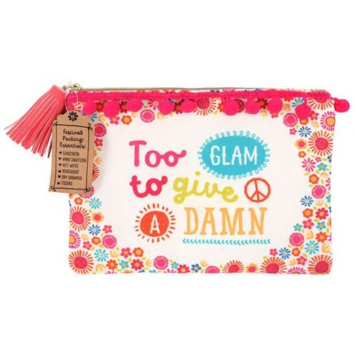 Too Glam to Give a Damn Make up Pouch