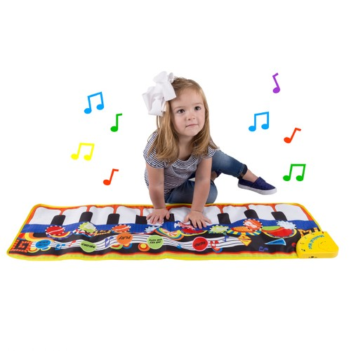 Step Piano Mat for Kids, Keyboard Mat with Musical Keys