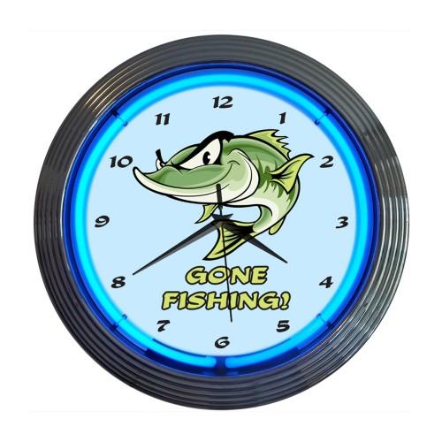 Neonetics Hummer Neon Clock