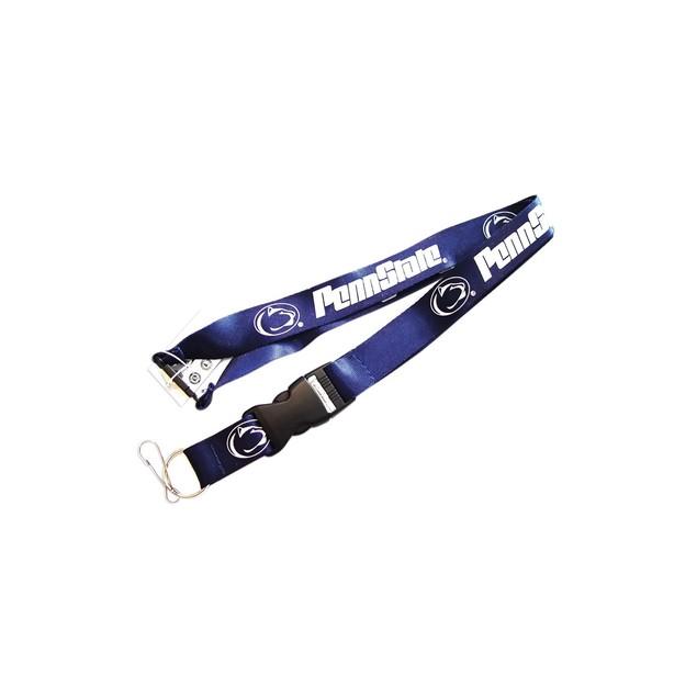 Penn State Nittany Lions Clip Lanyard Keychain Id NCAA - Blue