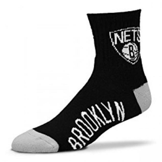 Brooklyn Nets NBA Team Socks