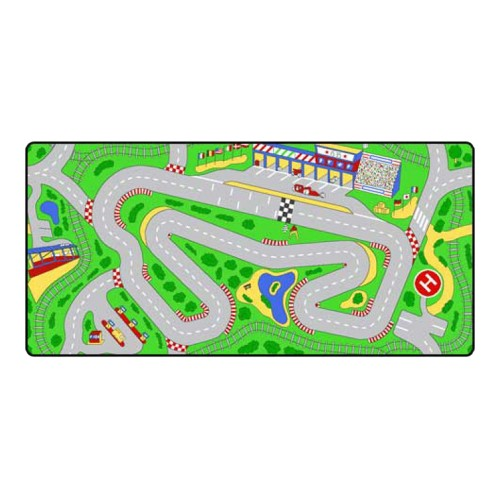 """Learning Carpets Racetrack - LC205 (36"""" x 79"""")"""