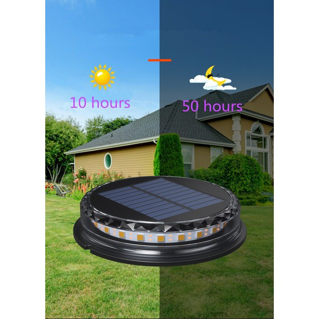 4Pcs Outdoor Courtyard Garden Plug-in Solar Landscape Light Lawn Light Led Underground Light