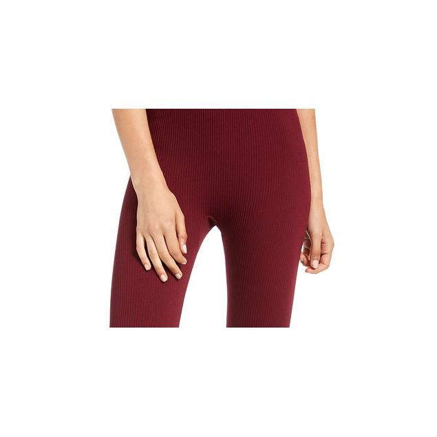 Hippie Rose Juniors' Fleece-Lined Leggings Purple Size Large