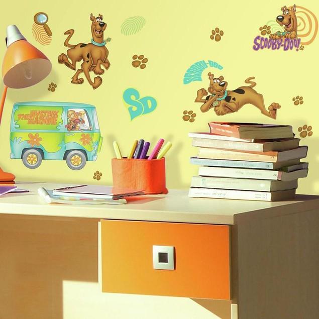 Roommates Nursery Baby Room Wall Decorative Scooby-Doo Wall Decals