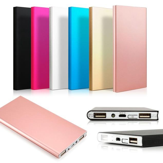 Ultra Thin 20000mAh Portable External Battery Charger Power Bank