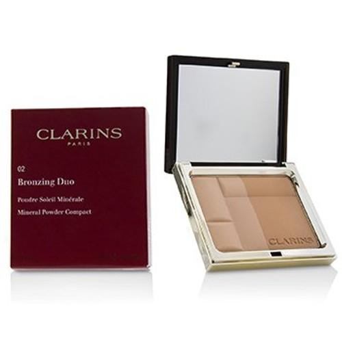 Clarins Bronzing Duo Mineral Powder Compact - # 02 Medium