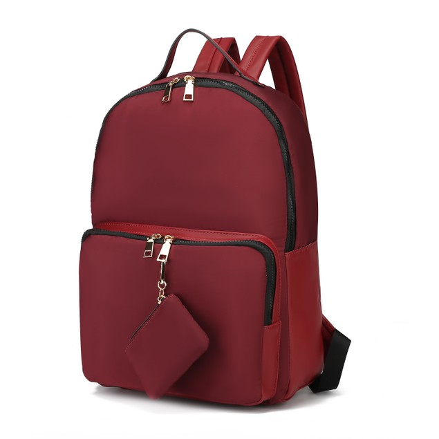 MKF Collection Ainsley Nylon Backpack by Mia K.