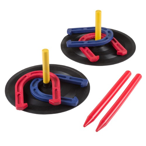 Rubber Horseshoes Game Set for Outdoor and Indoor Games