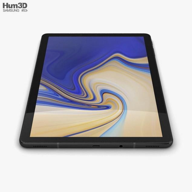 Samsung Galaxy Tab S4 (10.5), Verizon, Black, 64 GB, 10.5 in Screen