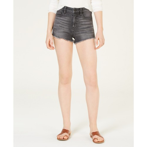 Celebrity Pink Juniors' High-Rise Mom Denim Shorts Black Size 3