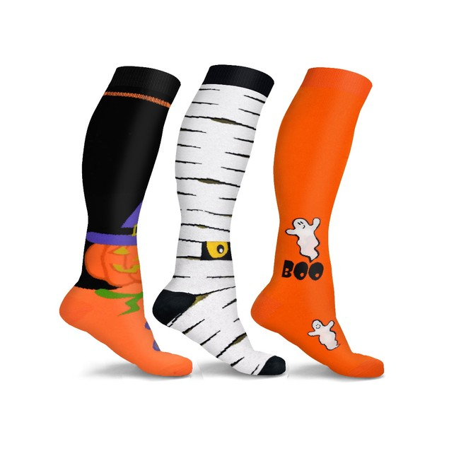 DCF Halloween Compression Socks (3-Pair or 6-Pair)