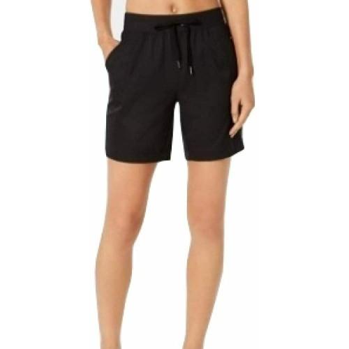 Ideology Women's Woven Shorts Black Size XX Large