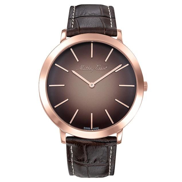 Mathey Tissot Men's Darius Brown Dial Watch - H7915PS