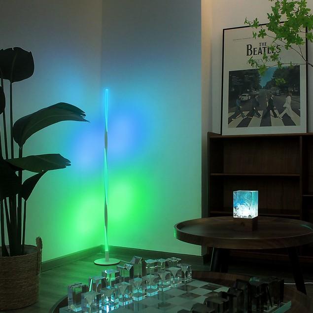 Spiral RGB Color Floor Lamp