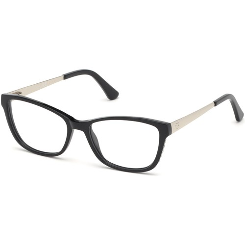 Guess Womens Eyeglasses GU2721V 001 Black 52 16 140 Frames Square