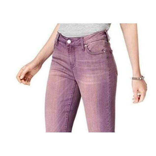 Celebrity Pink Women's High Rise Ankle Skinny Jean Med Purple Size 1