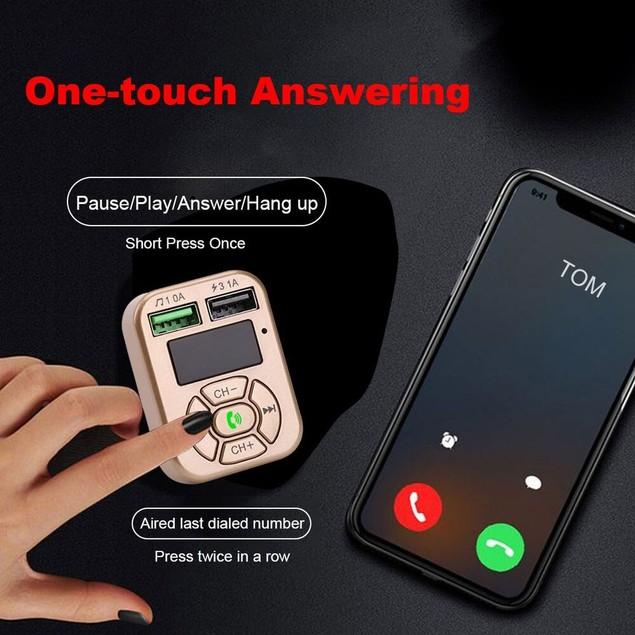 Bluetooth FM Transmitter & Car Charger
