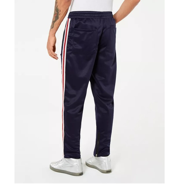 Reason Mens Ludlow Track Pants Navy Size Medium