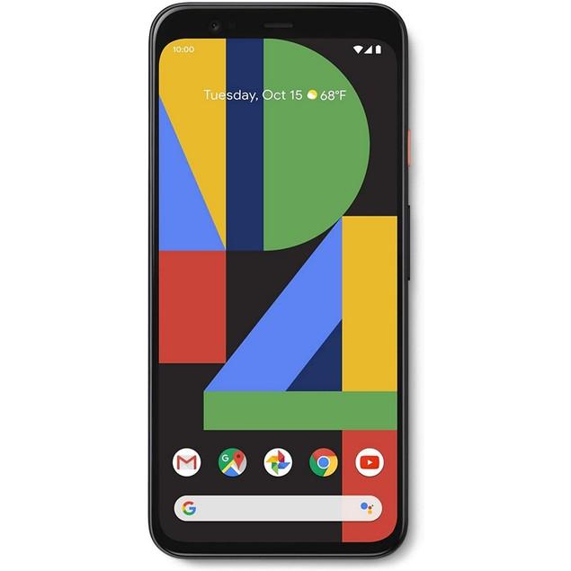 Google Pixel 4 XL, Unlocked, White, 64 GB, 6.3 in Screen