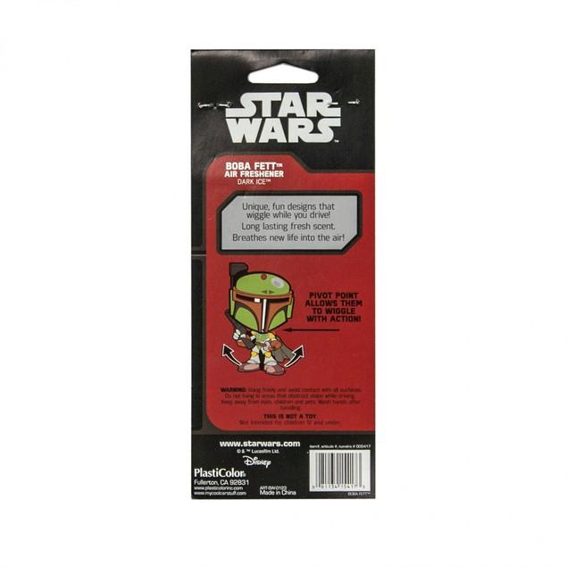 Star Wars Boba Fett Wiggler Car Air Freshener