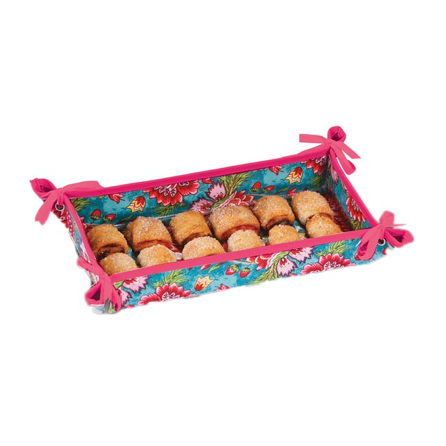 Picnic Plus Hostess Appetizer Tray Madeline Turquoise