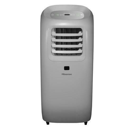Hisense 10,000 BTU ASHRAE Ultra-Slim Portable Air Conditioner with Window Kit