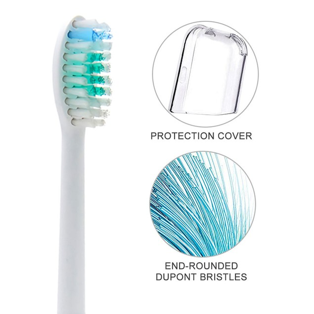 4 Packs Replacement Toothbrush brush Heads Fit For Philips Sonicare E series
