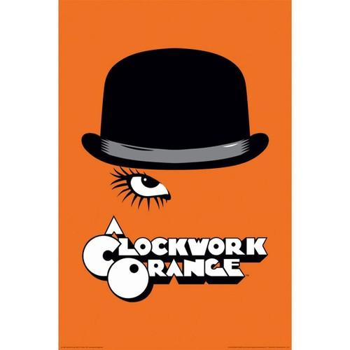 """A Clockwork Orange Hat Poster 24"""" x 36"""" Movie Stanley Kubrick Gift"""