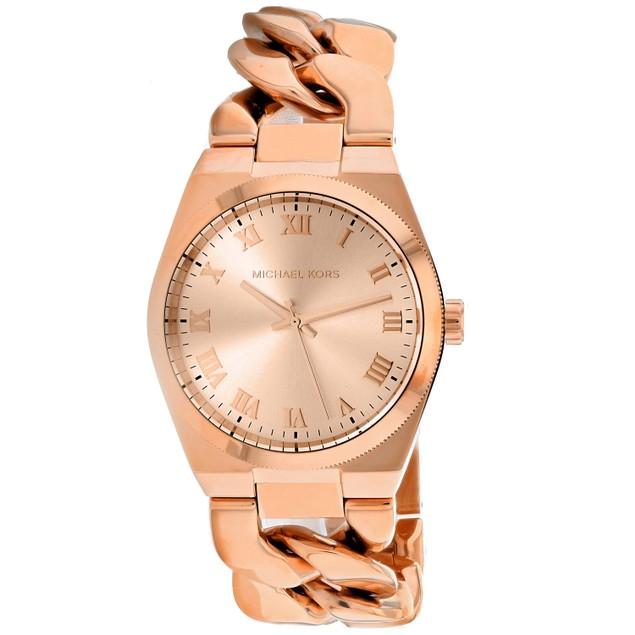 Michael Kors Women's Channing Rose gold Dial Watch - MK4564