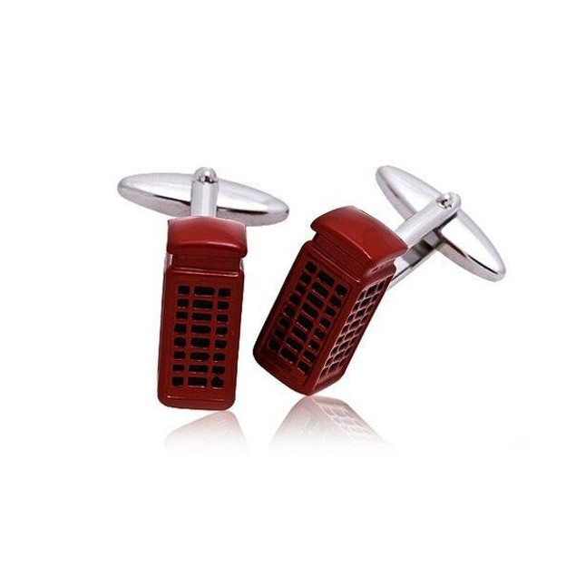 Phone Booth Cufflinks