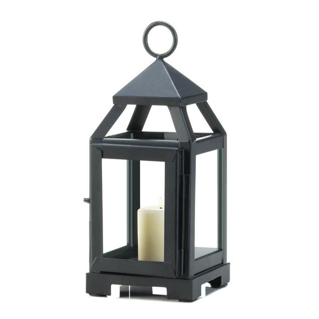 Gallery of Light Black Mini Contemporary Lantern