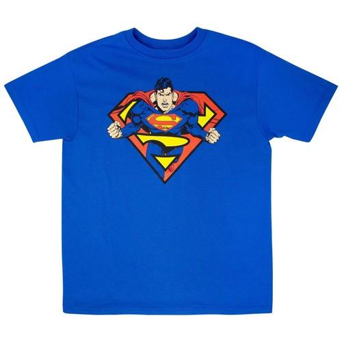 Superman In Shield T-Shirt