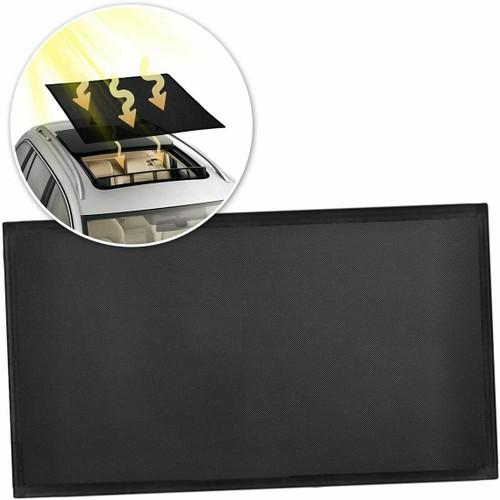 Zone Tech Sunroof Car Vehicle Black Mesh Magnetic Sun Shade Ray Shield