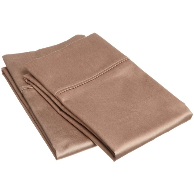 Solid 400-Thread Count Egyptian Cotton 2-Piece Pillowcase Set