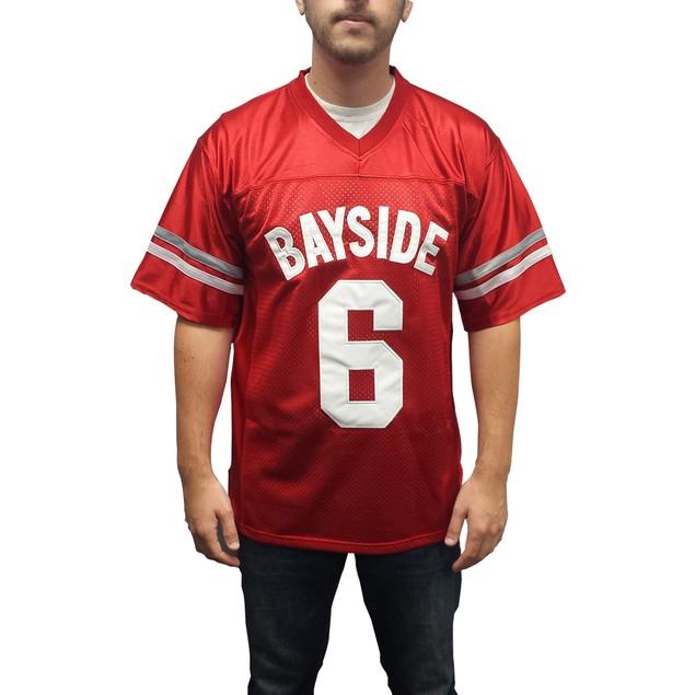 A.C. Slater #6 Bayside Football Jersey
