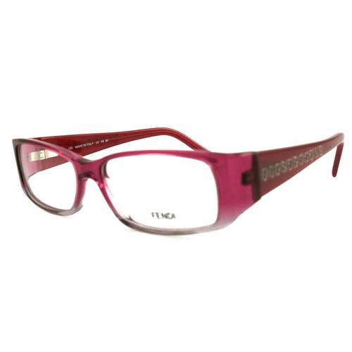 Fendi Women Eyeglasses FF830 692 Bordeaux 52 15 135 Full Rim Rectangle