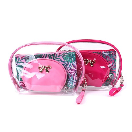 Lipstick Queen 3-Piece Cosmetic Bag Set with Bestsellers Trio