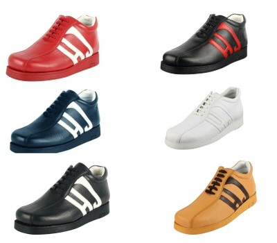 LibertyZeno Men's Genuine Leather High Top Moc Toe Desert Chukka Casual Boots Was: $99.99 Now: $59.99.
