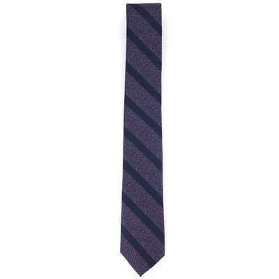 Bar III Men's Hayden Stripe Tie Purple Size Regular