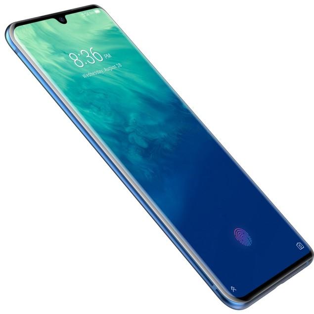 ZTE Axon 10 Pro 5G, Unlocked, Blue, 256 GB, 6.47 in Screen
