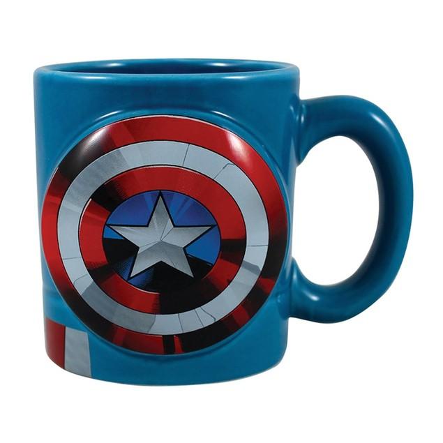 Marvel Captain America 20 oz. Sculpted Ceramic Mug