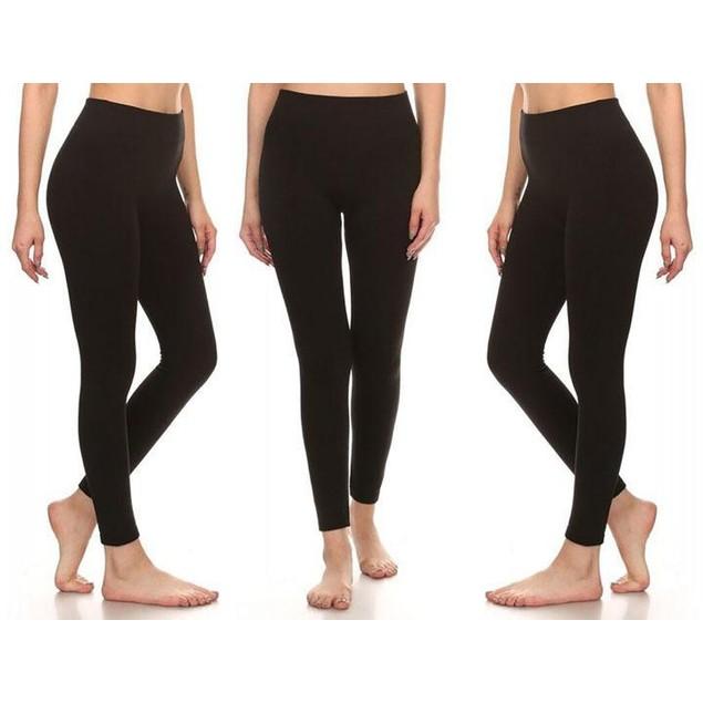 3-Pack Women's Premium Fleece Lined Leggings