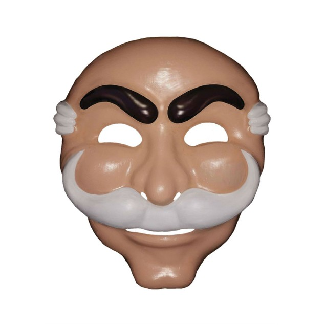 Mr. Robot Mask  FSociety Rami Malek Christian Slater Elliot Alderson Edward