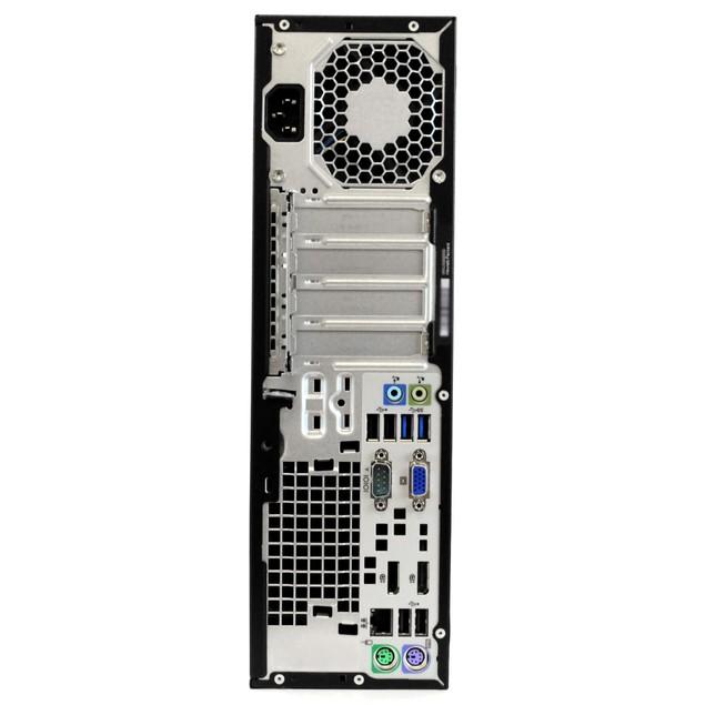 "HP 800G1 Desktop Intel i5 8GB 500GB HDD Windows 10 Home 24"" Monitor"