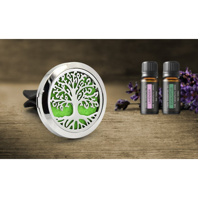 Aromatherapy Car Vent Diffuser with Two Optional Oils