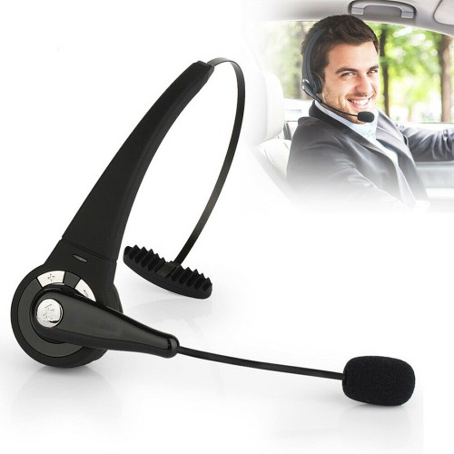 Wireless Headset Driver Noise Cancelling Over-Head Bluetooth Headphones